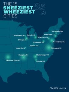 Is your city on the list?